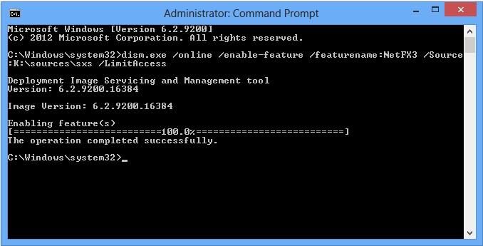 উইন্ডোজ ৮ এর জন্য NET Framework 3.5 ইনস্টল করুন খুব সহজে